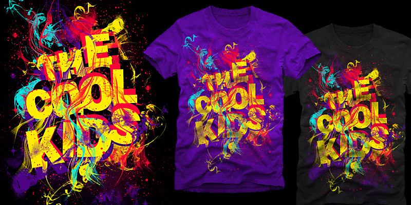 The Cool Kids are bringin the heat - T-shirt design by ...
