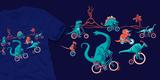 Dinosaurs on Bikes