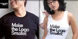 Make the Logo Smaller. Large type verison