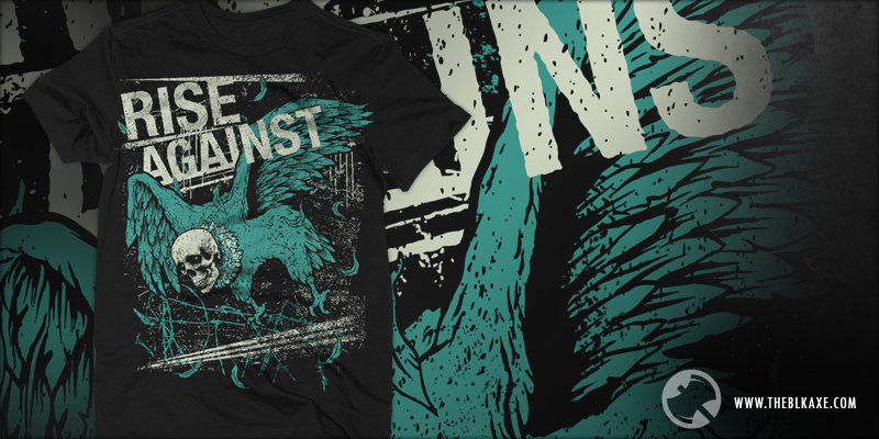 Rise Against Shirts Rise Against Vulture of