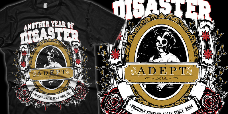 Another Year Of Disaster T Shirt Design By