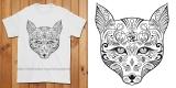 Sugar Fox Colouring T-Shirt