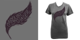 Caroline Glaser - feather tee