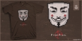 P for Pixel Tees / V for Vendetta