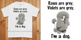 Roses are Grey T-Shirt (Unisex)