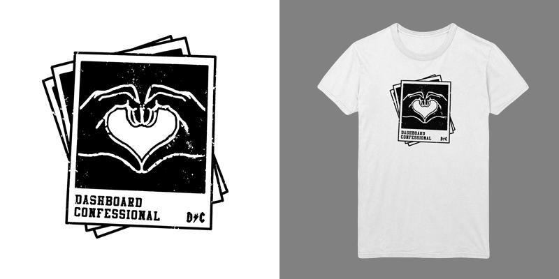 Dashboard Confessional T Shirt Designs