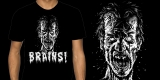 Brains! Zombie Shirt