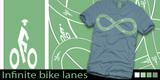 Infinite bike lanes