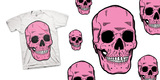 Pink Cranium by Iban Brizuela