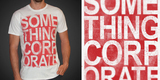 Something Corporate - Text Tee
