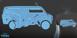 Cooler as a TRON Van