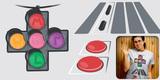 N Street Traffic Light