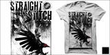 Straight Line Stitch - 'CROW'