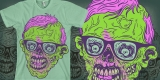 Retro zombie 80`s