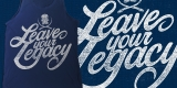 Arkaik Clothing 'Leave Your Legacy' Vintage type