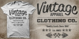 Vintage Apparel MMXI Since 1986