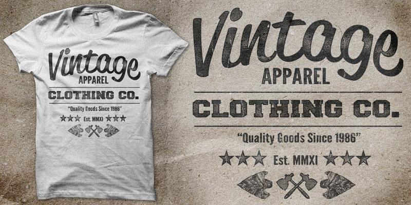Vintage Apperal 101