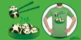 Bamboo Chopsticks & Look Tasty Pandas