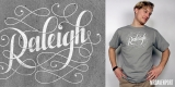 Raleigh Hand Lettered
