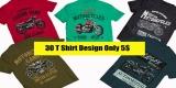 30 T-Shirt Designs Motorbike Pack