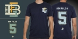 Ben Folds Five- Five Navy Tee