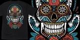 Santa Cruz - Sugar Skull