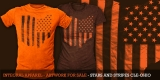Ohio Stars and Stripes - Cleveland Browns colorway