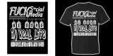 Fuck Social Media Uni-Sex Tee