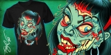 Girl Zombie tee Slowdown