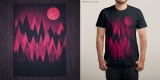 Dark Mystery Peak Wood's @threadless