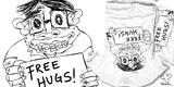 Free hugs hehehehe!