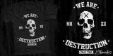 WE ARE DESTRUCTION - For SALE