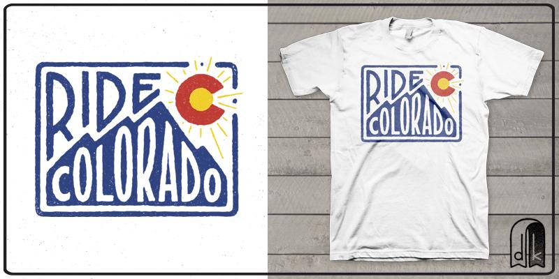 Ride Colorado Stamp