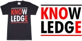 "K.N.O.E. Clothing ""KNOWLEDGE"" tee"