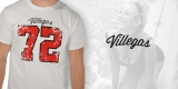 Vintage Football 1972 Villegas Distressed Tee