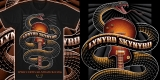Lynyrd Skynyrd Black snake illustration T-shirt