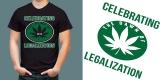 Celebrating Legalization T-shirt