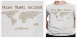 Dream Travel Discover Tshirt