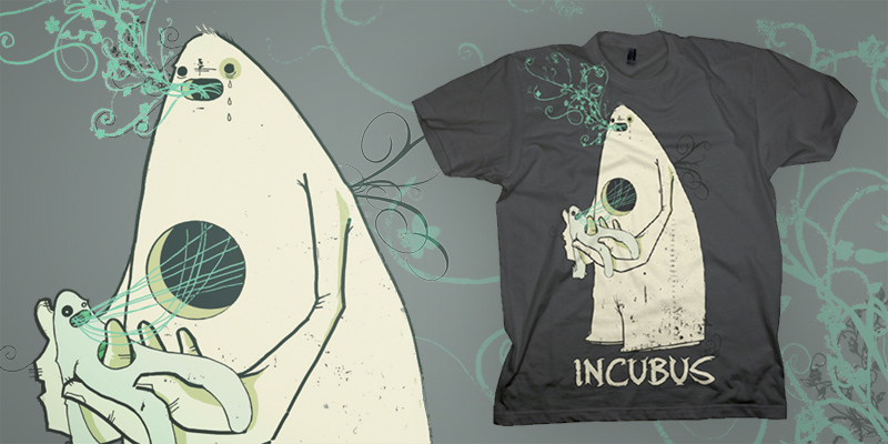 monuments and melodies tshirt design by yonil mintees