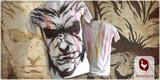 Devil on handmade t-shirt