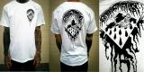 Black Triangle Tee- White Shirt