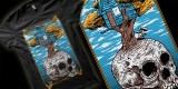 Skull & tree