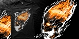 Human Torch Skull