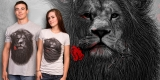 Lion and Rose
