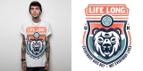 Life Long - Bear t-shirt