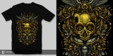 treasure of a golden skull