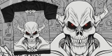 t-skull centris - artwork for sale