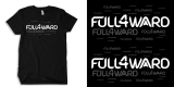 Typograph artwork for FULL4WARD (American Clothing)