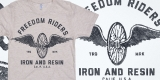 Iron And Resin - Freedom Riders