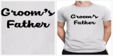 Groom's Father Tshirt